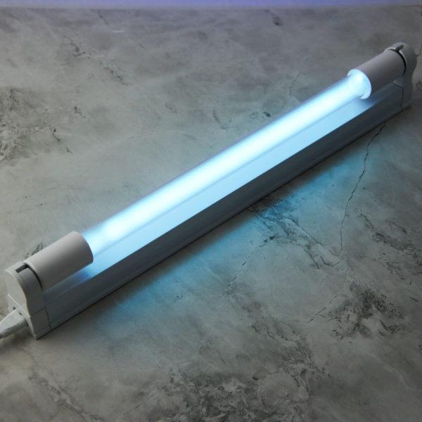 Лампа бактерицидная ультрафиолетовая: мощность 15W, цоколь G13, длина 436мм